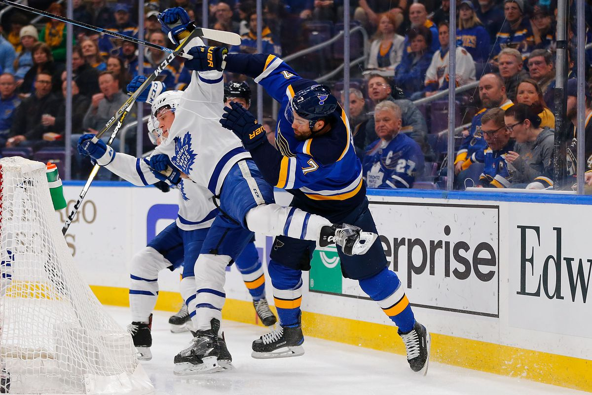 Toronto Maple Leafs v St Louis Blues