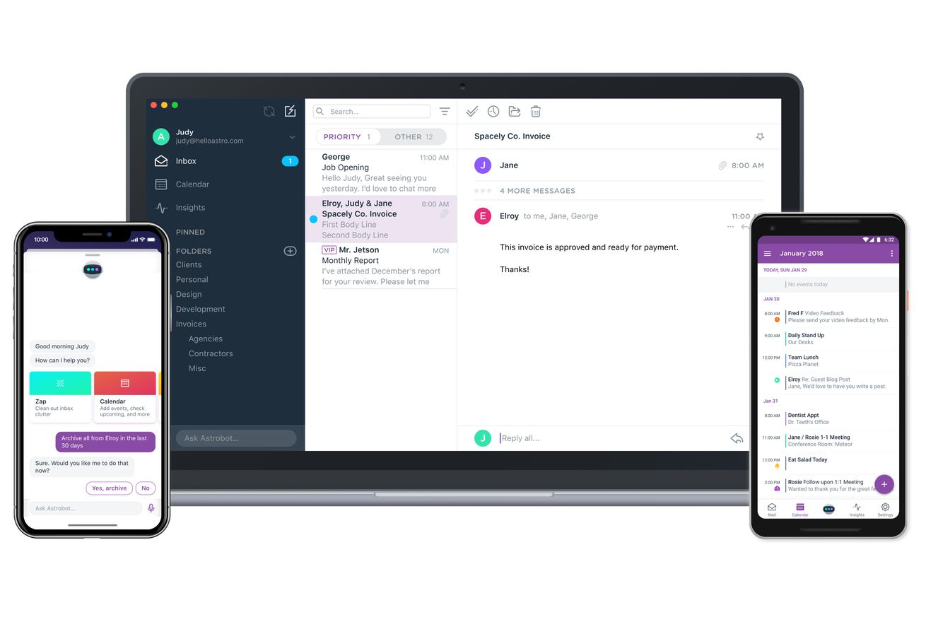 slack buys astro and shuts down its email app