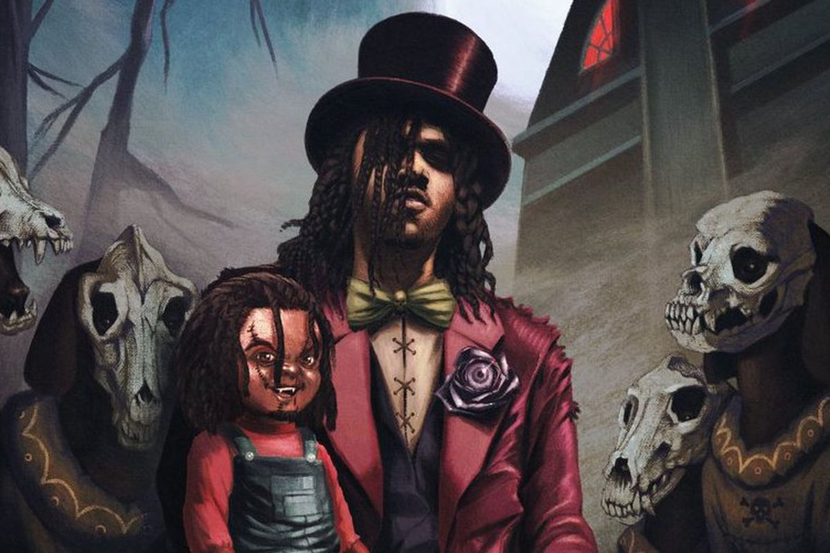 Young Nudy's 'Dr. EV4L' artwork