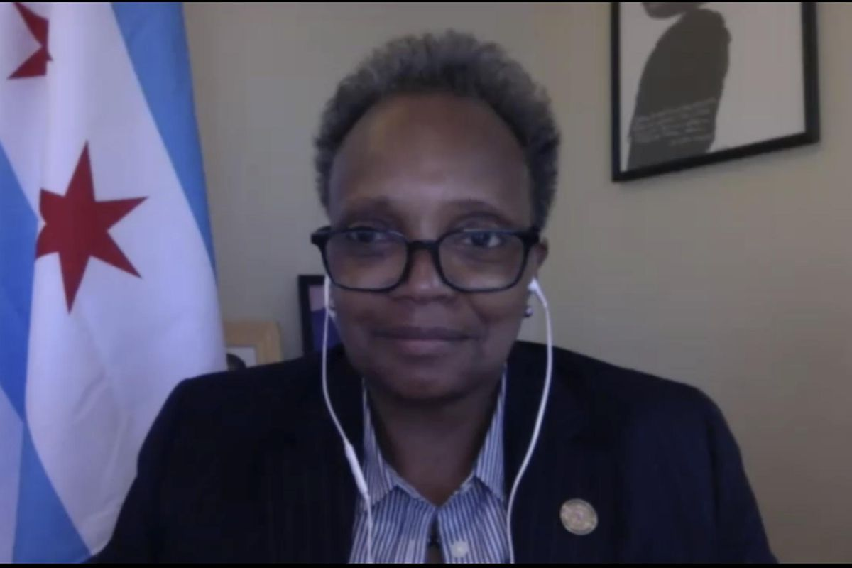 Mayor Lori Lightfoot and other Illinois Democrats are doing a variety of activities at the virtual Democratic National Convention, which kicks off on Monday.
