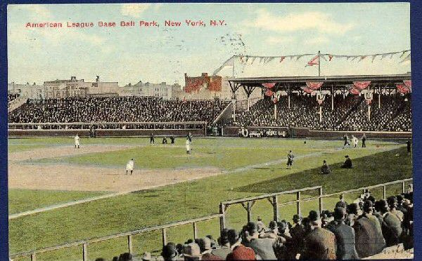 Hilltop Park in what is now Washington Heights in New York City.