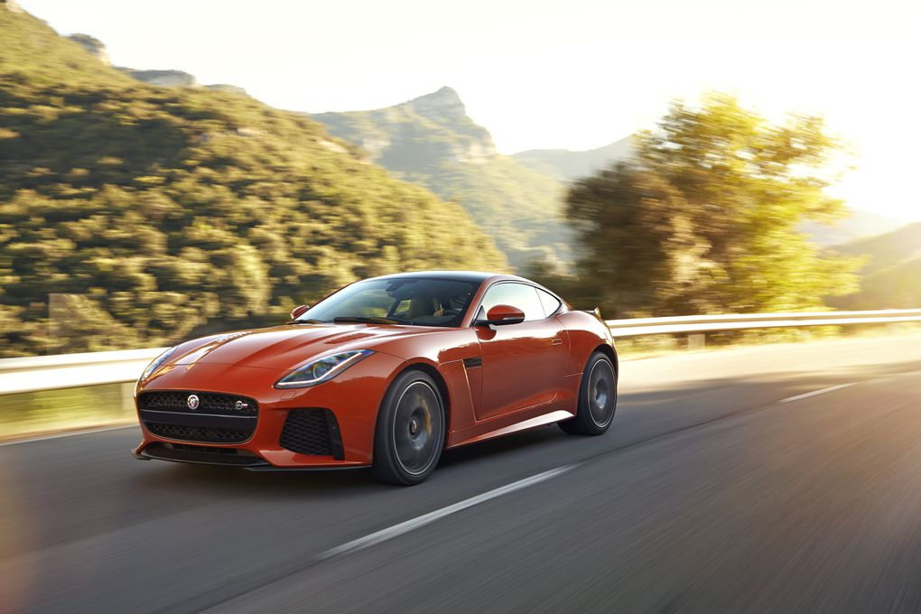 The Jaguar F Type Svr Is The Fastest Cat In The World The Verge