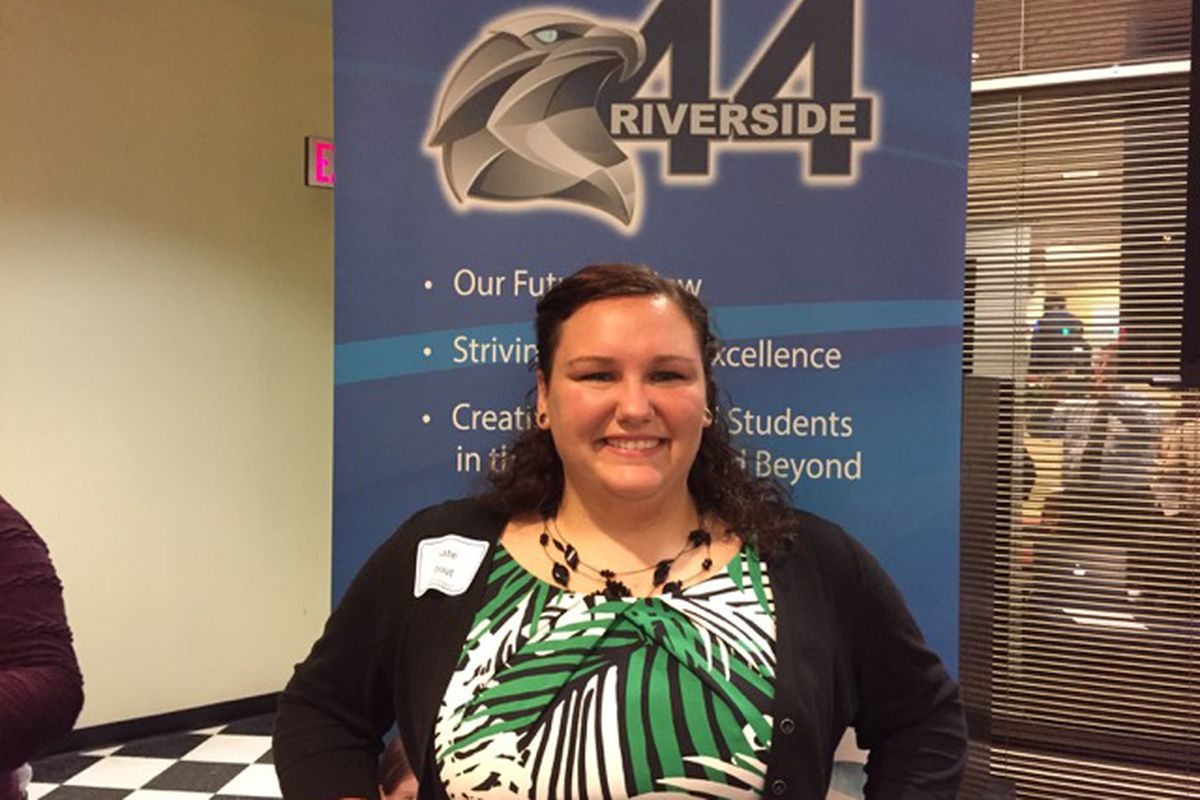 Kate Stout is a fifth grade teacher at Riverside School in IPS, also known as School 44.