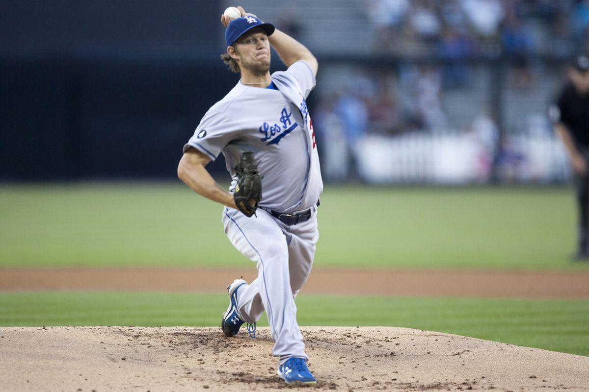 Clayton Kershaw continued his stellar season Monday night in San Diego. (<em>Getty Images</em>)