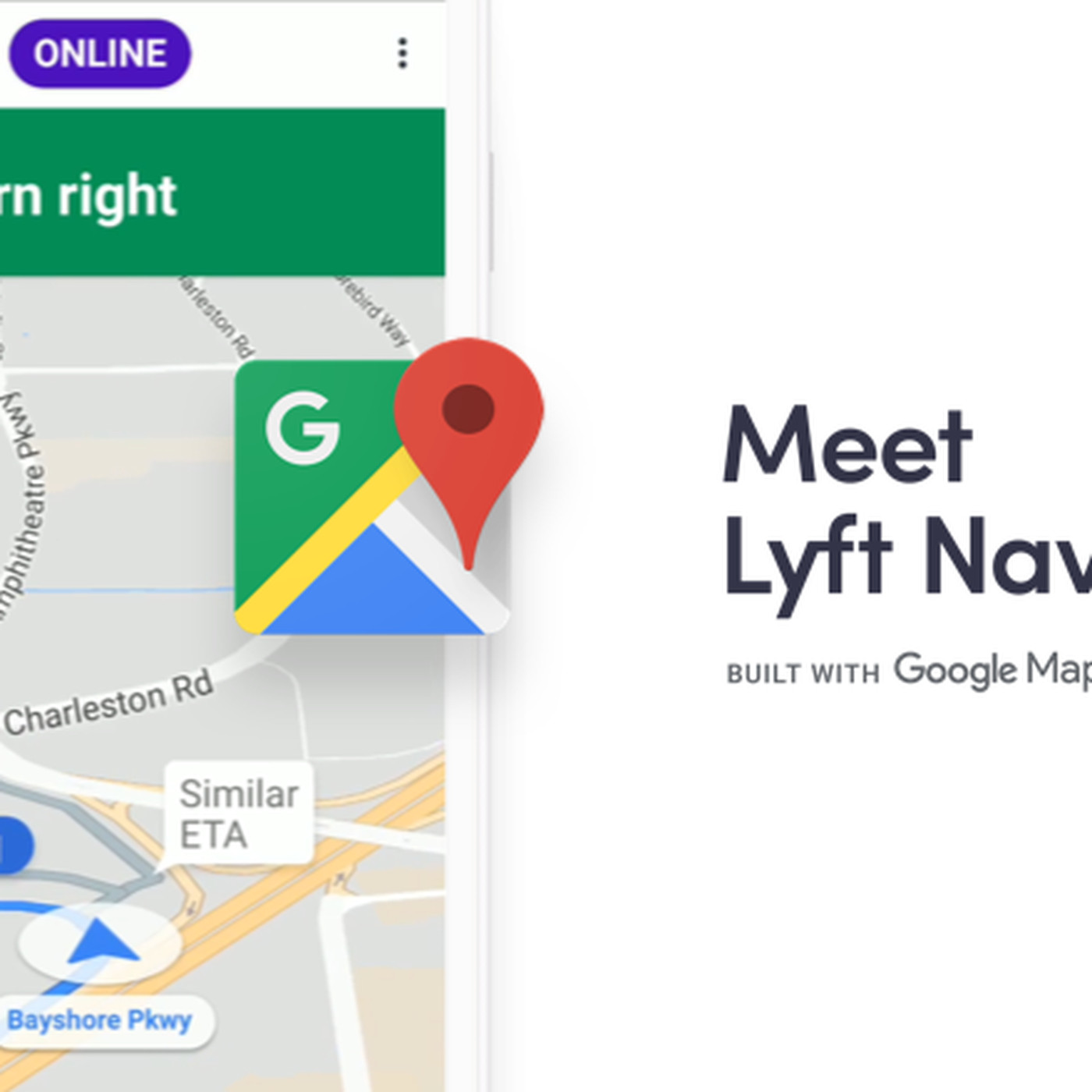 Lyft's new in-app navigation for drivers knocks out one more