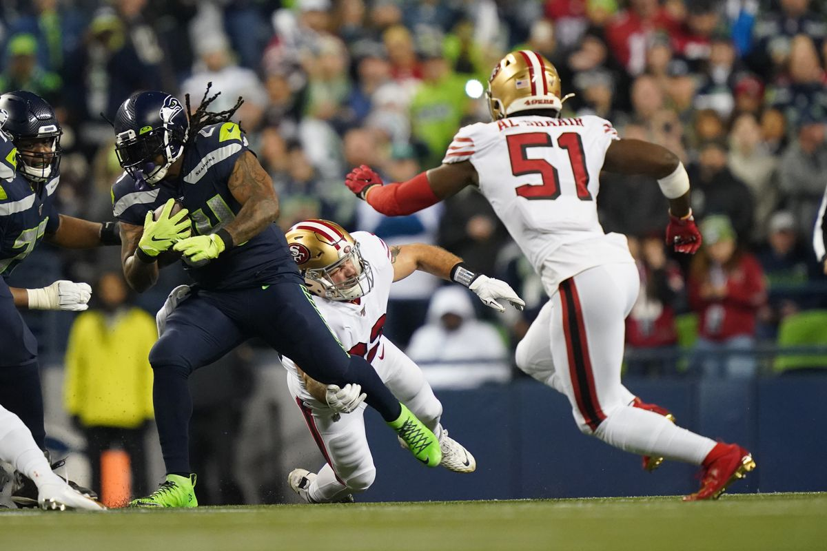 Seahawks Vs 49ers On Sunday Night Football 2nd Quarter Game Thread Field Gulls