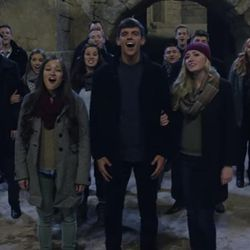 All 18 members of BYU's Vocal Point and Noteworthy joined in the making of Faith Counts newest music video.