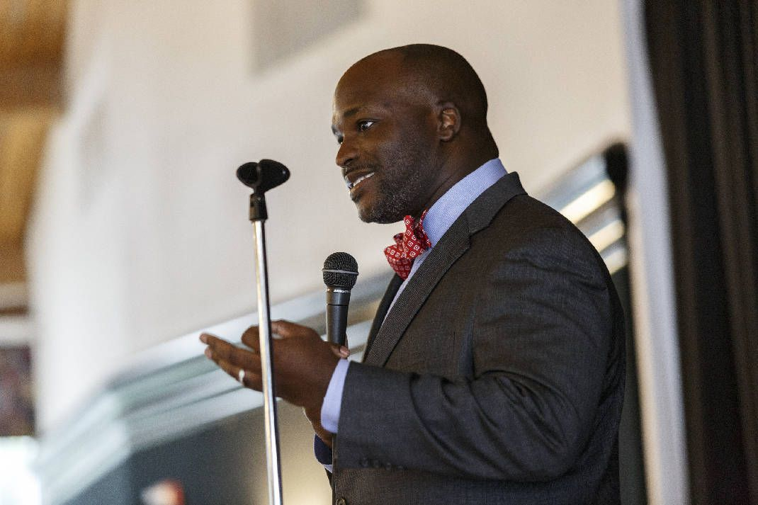 Bryan Johnson became superintendent of Hamilton County schools in July.