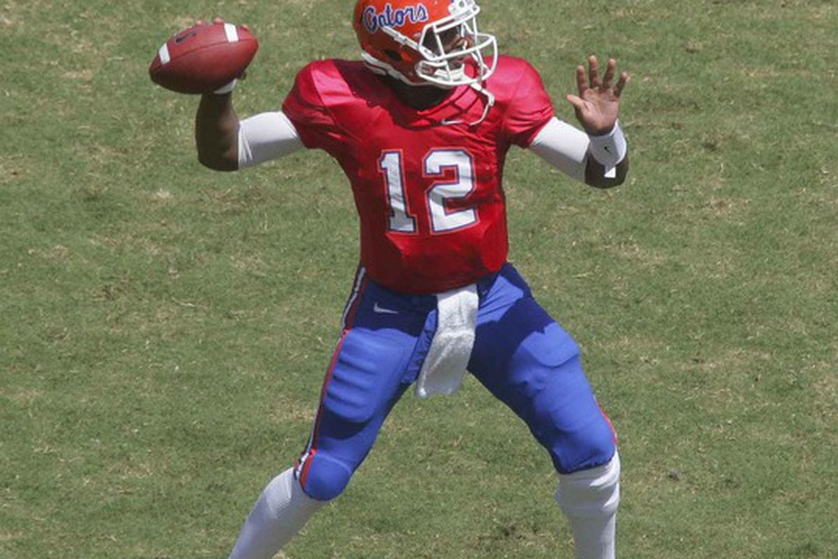 No conspiracy theory on featuring Brissett: There are no pics of both quarterbacks together in our system.