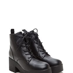 Low-key platform lace-ups that come in under $40 are a good low-committment option.