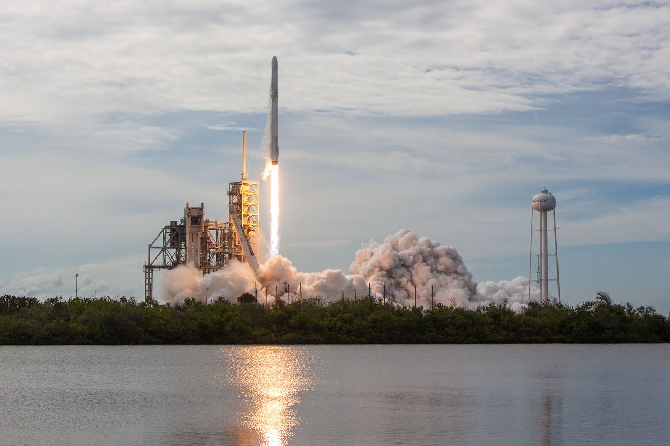 Watch SpaceX launch its Falcon 9 rocket to the space station after a month-long break