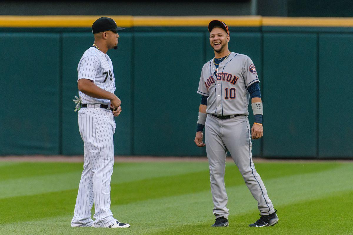MLB: AUG 10 Astros at White Sox