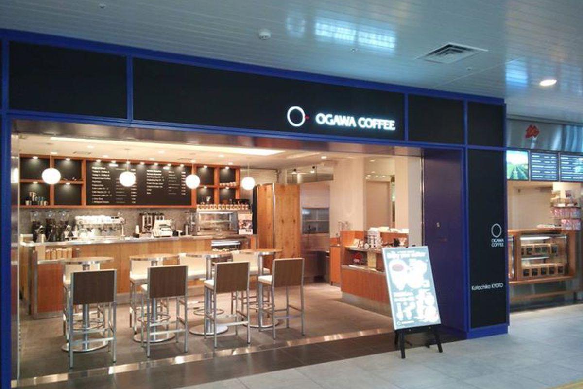 An Ogawa Coffee shop in Kyoto