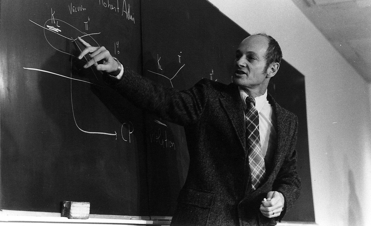 James W. Cronin, who died Thursday at age 84, spent much of his career at the University of Chicago, first as a student and then a professor.   University of Chicago photo