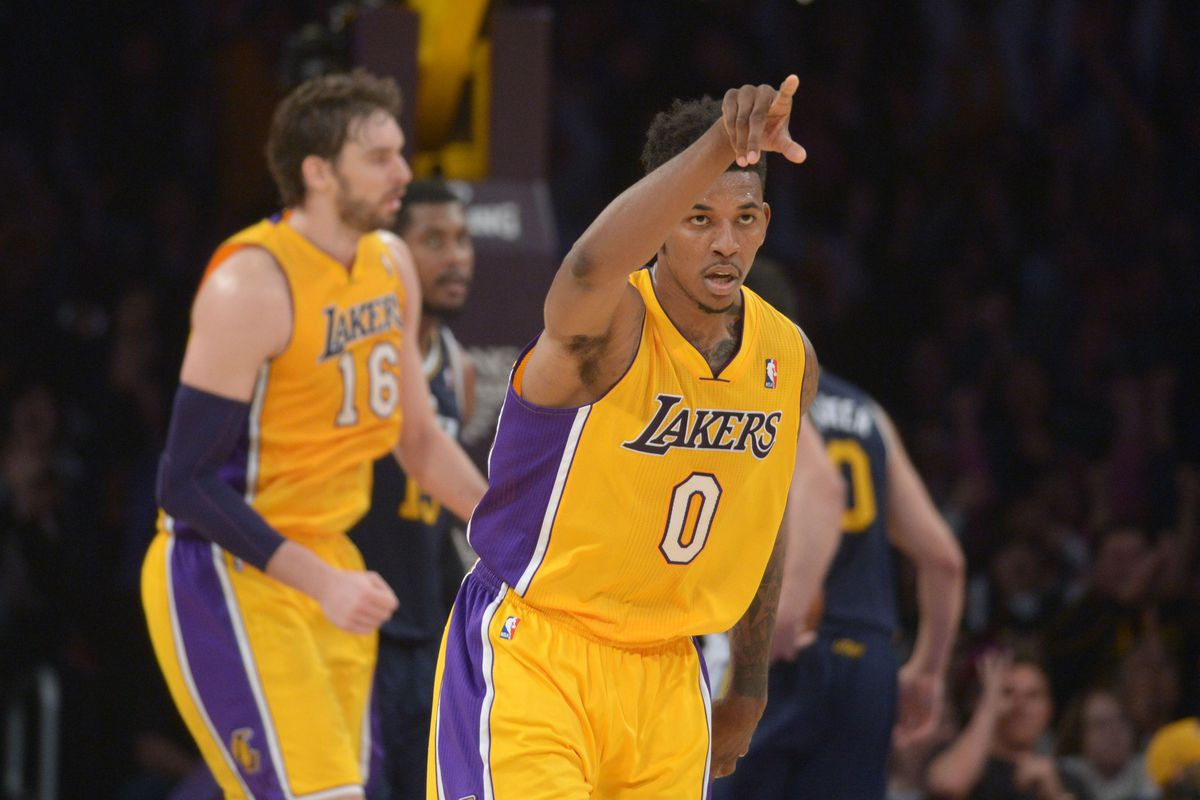6ad3650961aaed Kirby Lee-USA TODAY Sports. Nick Young .