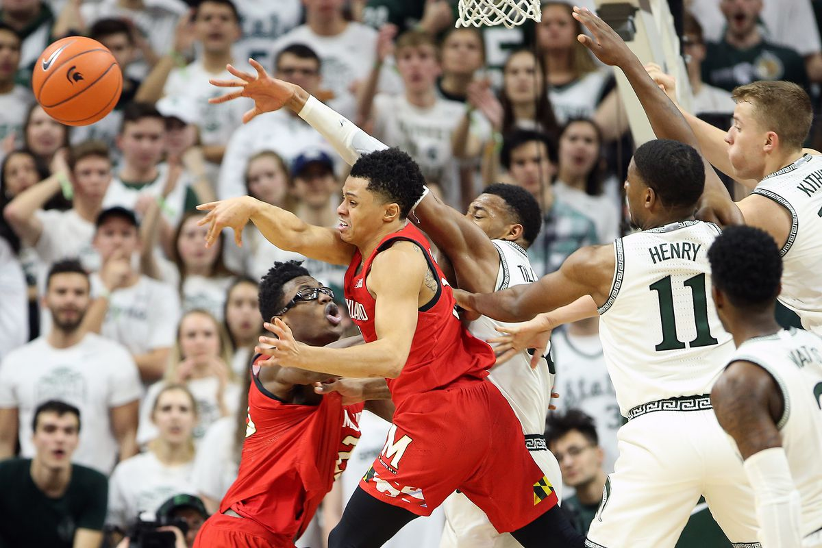 NCAA Basketball: Maryland at Michigan State
