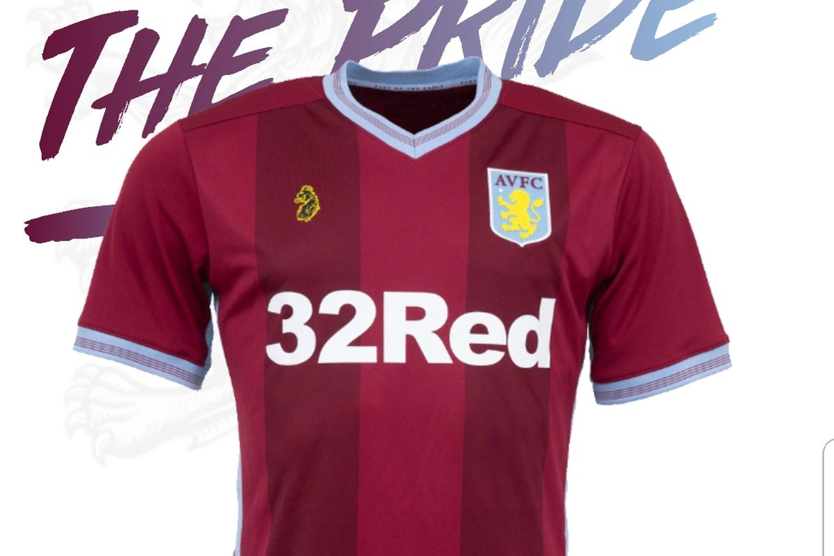 the best attitude a3e14 31d98 Aston Villa unveil 2018/2019 kits designed by Luke Roper ...