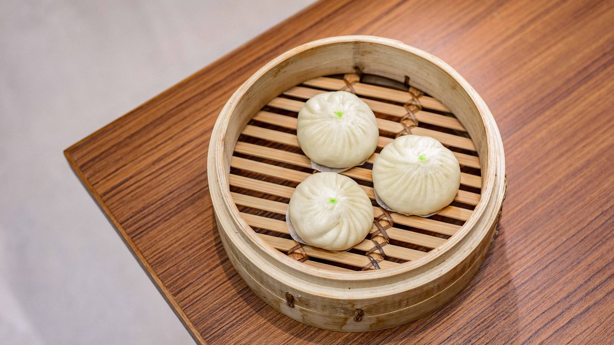 Din Tai Fung at Centre Point Tottenham Court Road: Xiaolongbao dumplings on the menu at Din Tai Fung's first London restaurant opening