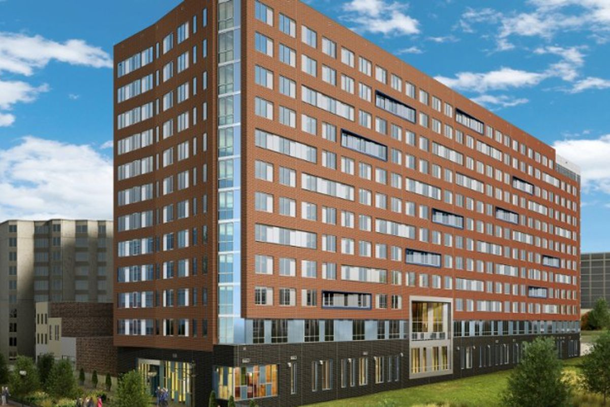 A Rendering Of Plaza West At 307 K St Nw D C Government