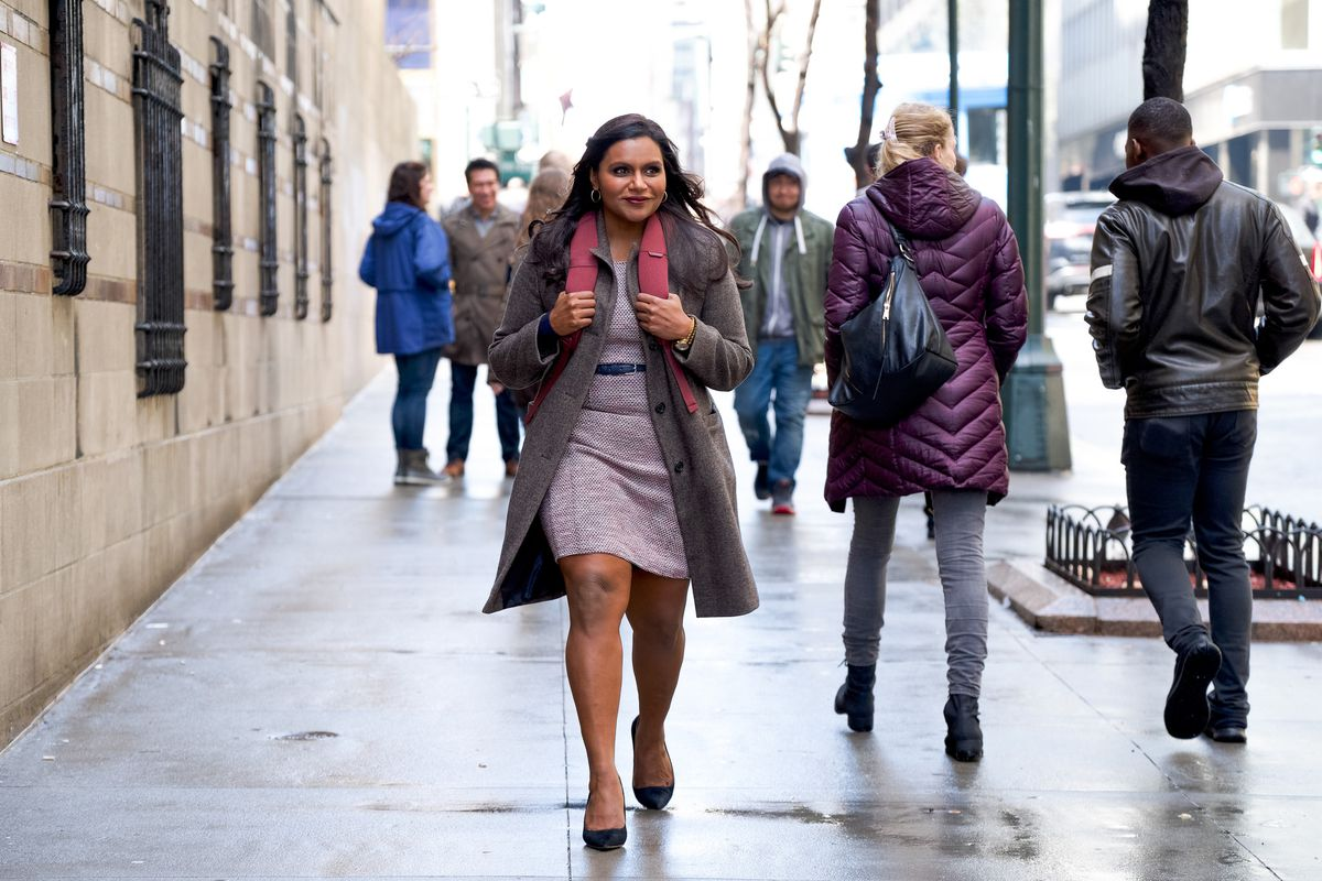 Mindy Kaling stars in Late NIght, which she wrote and produced.