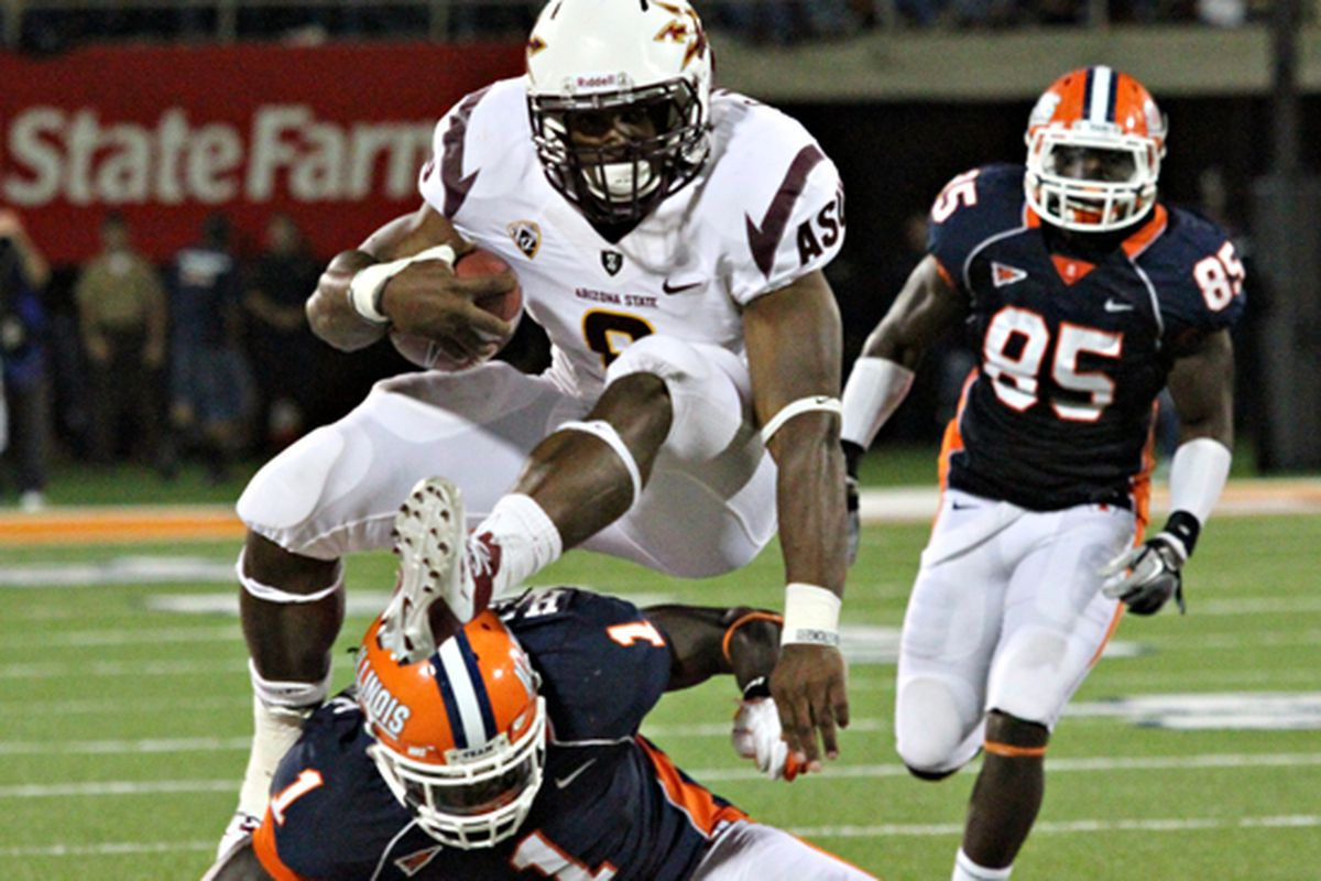 Can Cam & ASU clear the Illini hurdle towards a bowl game? (Photo: ASU)
