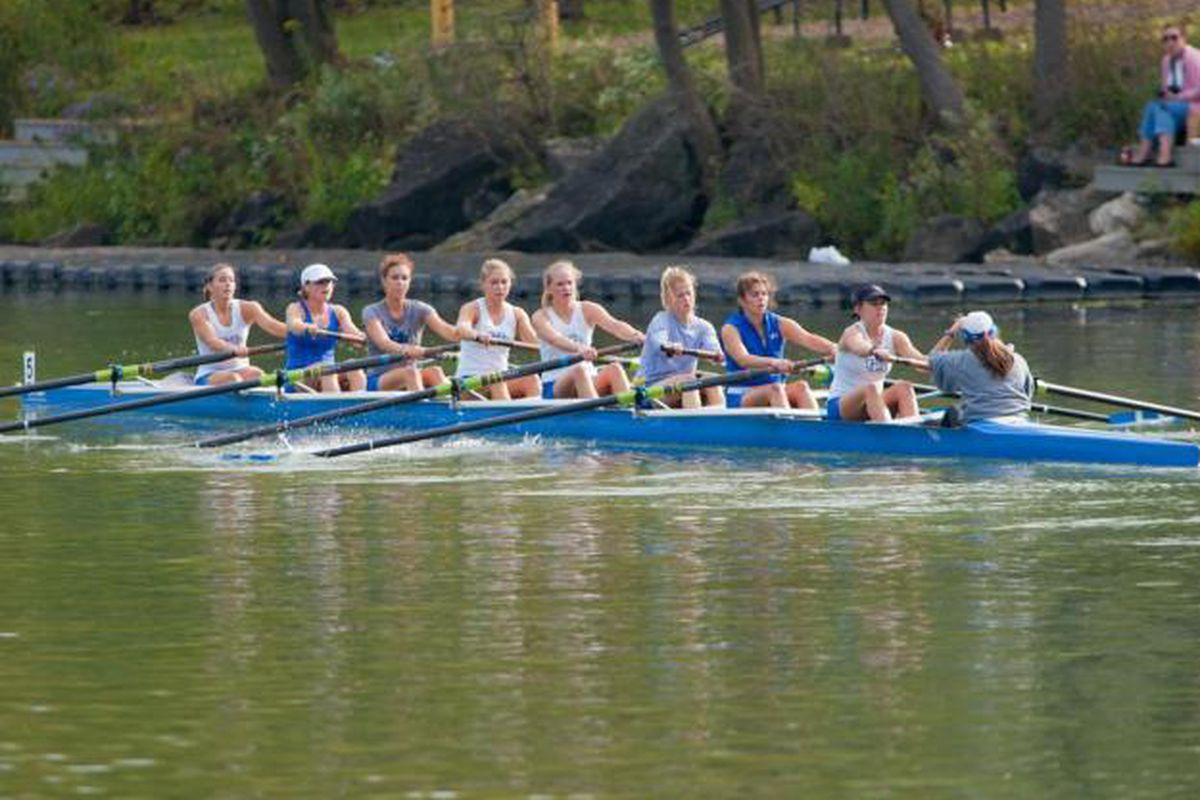 Way to go UB Rowing!