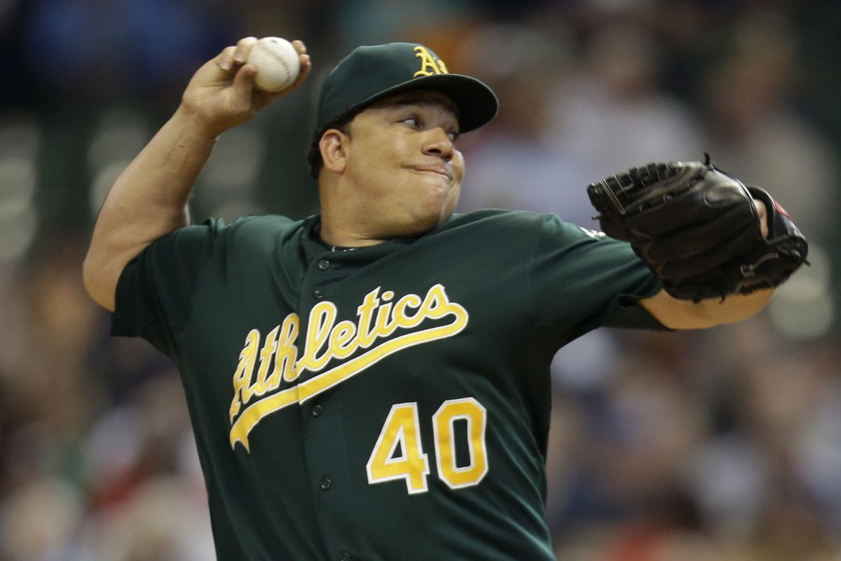 Rather than 6-pack abs, Bartolo Colon is rocking a keg.