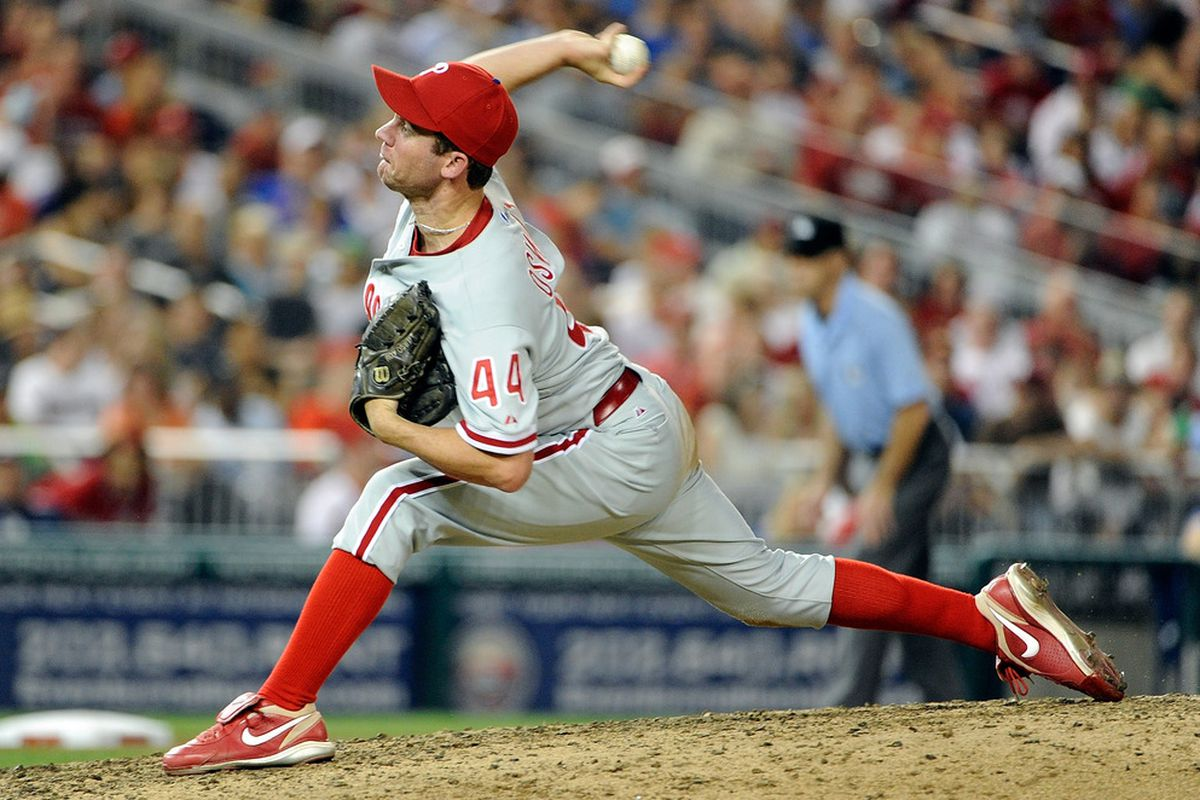 Last time, we found out that Roy Oswalt possessed one of the luckiest fastballs in baseball this year.  But did you know he also possessed the most unlucky pitch in ALL OF BASEBALL this year?