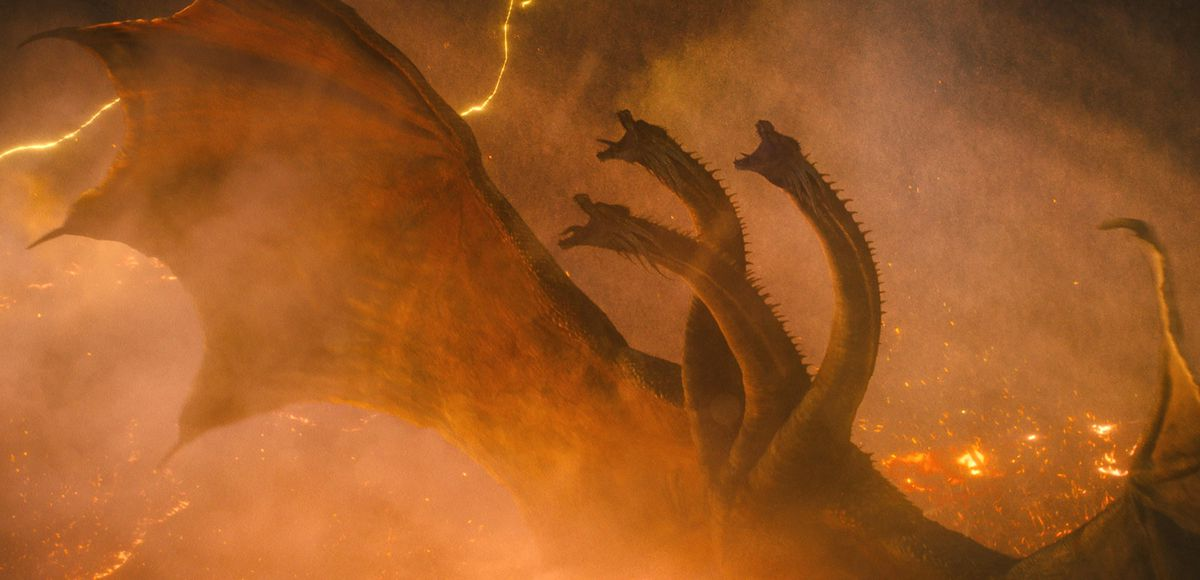 A scene from Godzilla: King of the Monsters