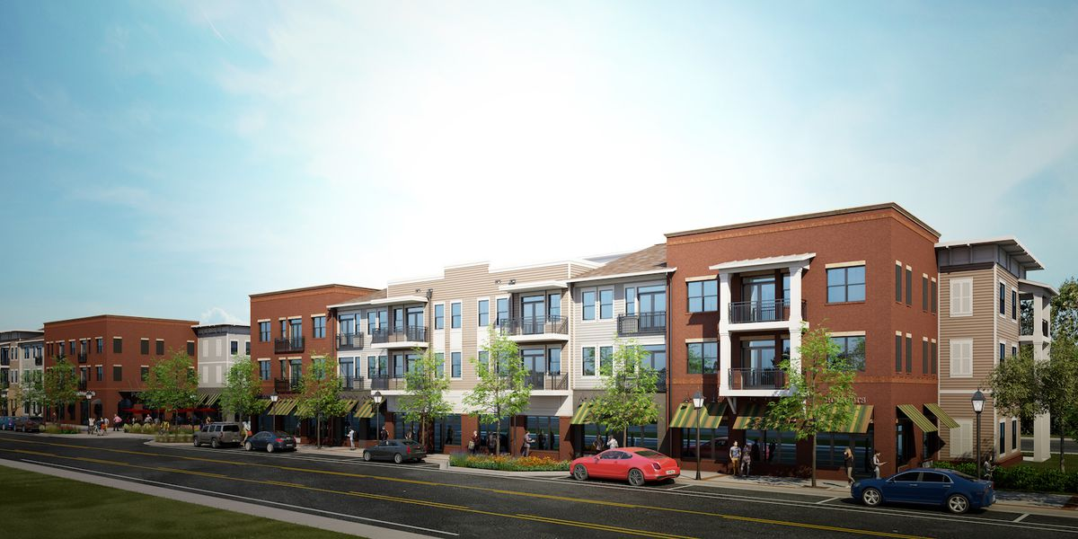 Though not quite as large as Alpharetta's Avalon, SouthLawn will feature three- and four-story apartments and townhomes, along with—like Avalon—a large ...