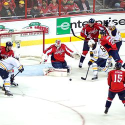 Puck Before Holtby