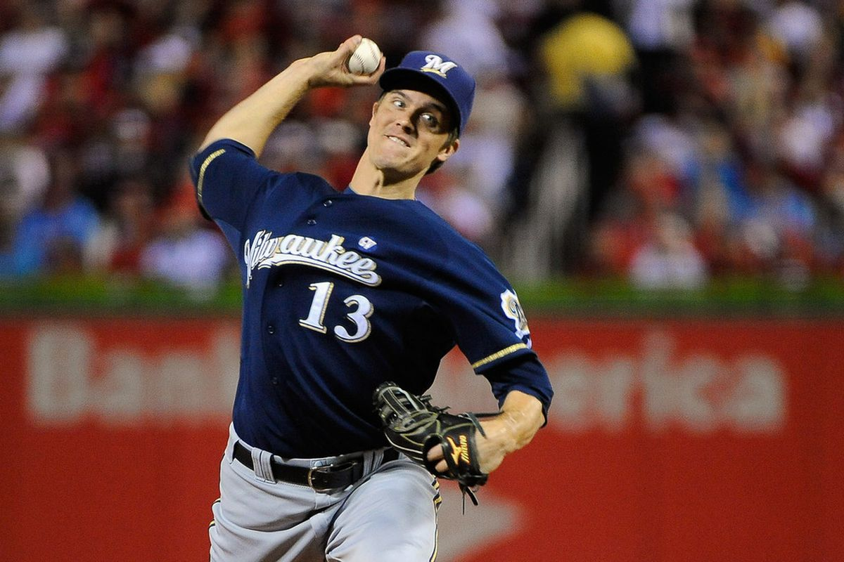 Is Zack Greinke a Top 12 starting pitcher in 2012?