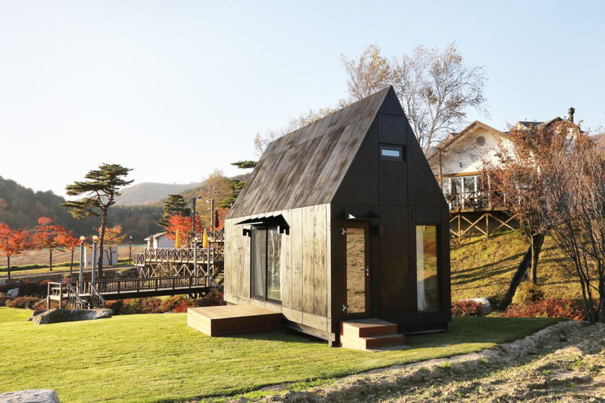 2018 winter olympics visitors can stay in this eco for Eco friendly tiny house
