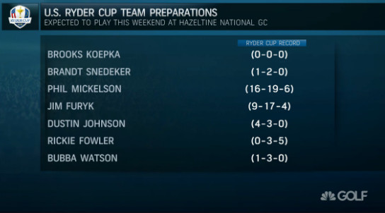 Bubba Watson vying with Jim Furyk for last Ryder Cup pick?