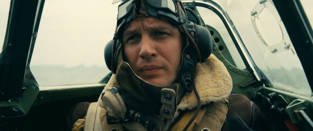 Dunkirk - Farrier in cockpit
