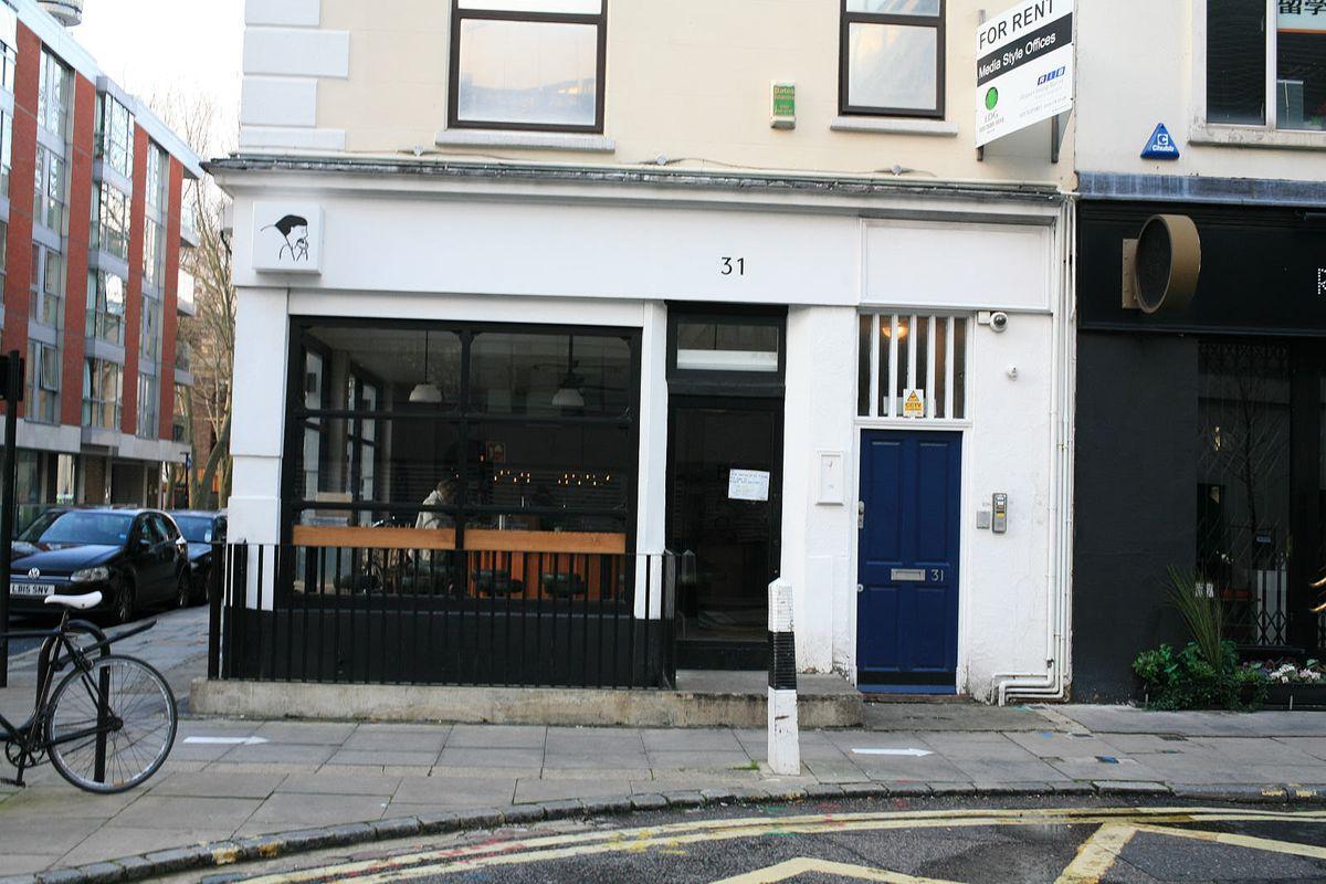 Cult Taiwanese restaurant brand Bao's Fitzrovia branch closed during the coronavirus lockdown in London