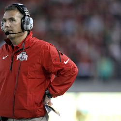 Urban Meyer, perpetually sweating the details.