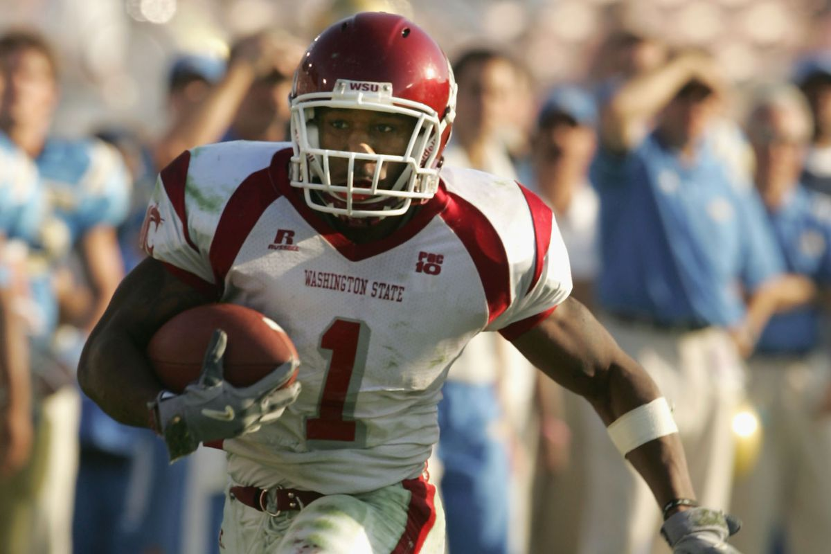 It was the first of two times the WSU running back would go ham against the Bruins.