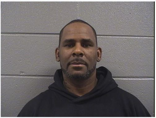 R. Kelly's booking photo from Saturday at the Cook County Jail. | Cook County sheriff's office