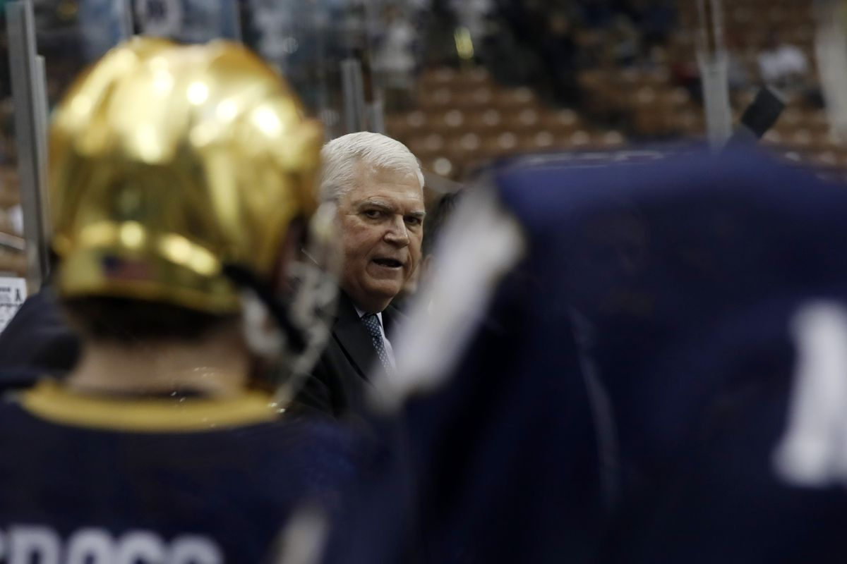 NCAA HOCKEY: MAR 25 Division I Championship - Northeast Regional - Minnesota v Notre Dame