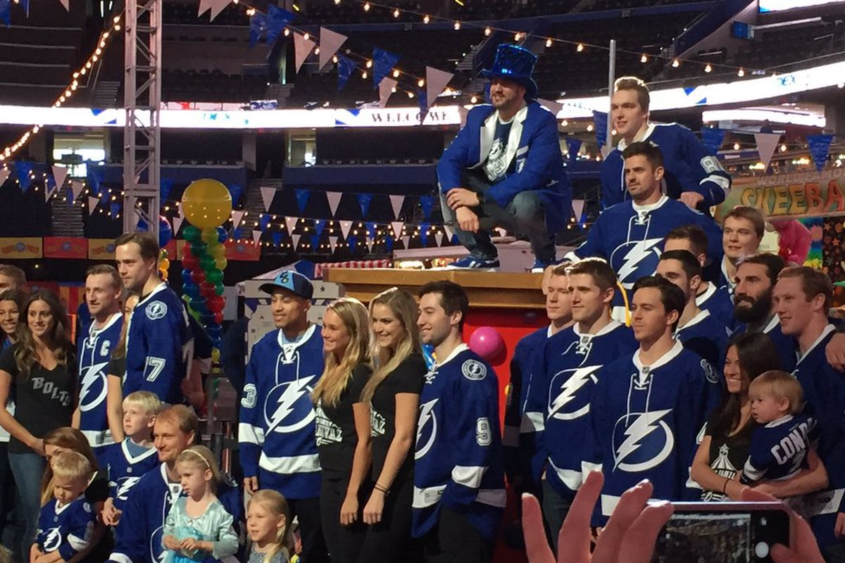 lightning fans are proof that southern hockey is all grown up