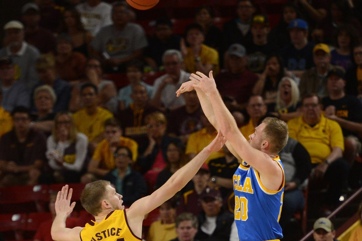 Bryce Alford may be known for playing hero ball, but tonight he recorded more assists than points in UCLA's win over ASU.