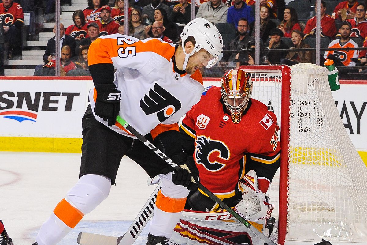 Calgary Flames run Philadelphia Flyers ragged in 3-1 win