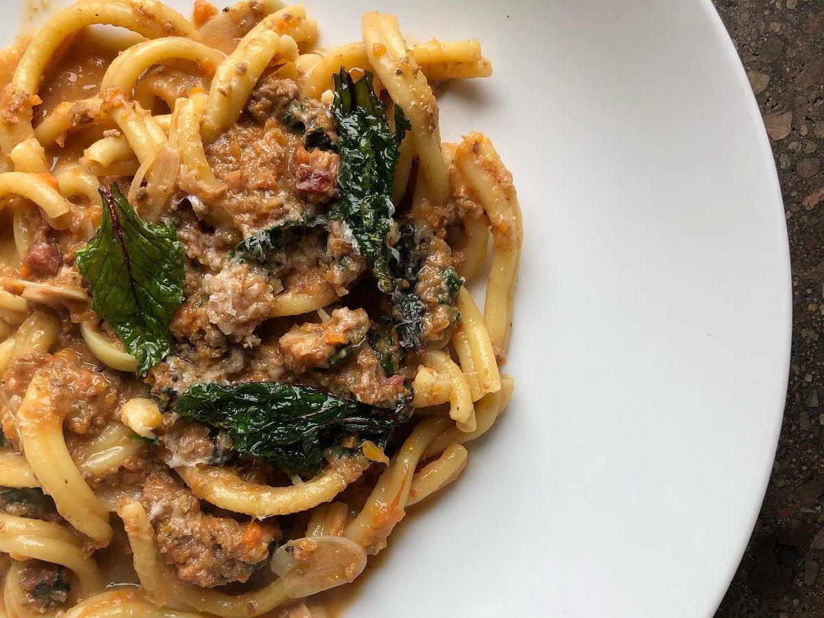 A dish from Foreign & Domestic