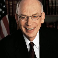 Sen. Bob Bennett is pictured in 2007.