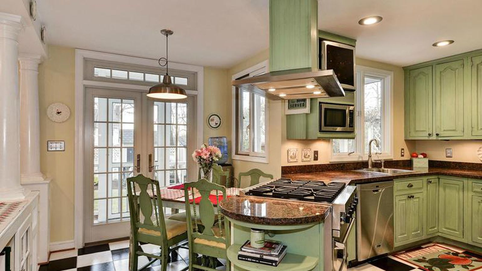 This 1m alexandria home comes with an updated kitchen for P kitchen dc united
