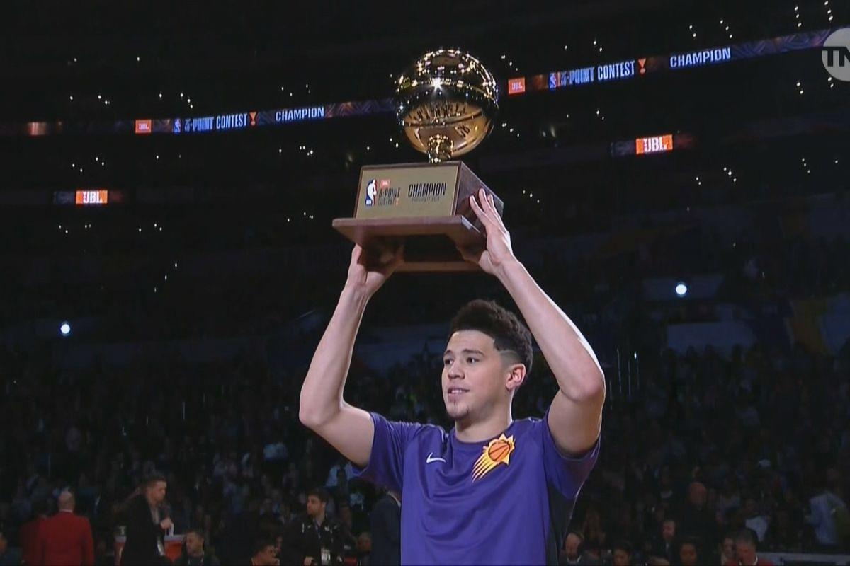 NBA Three-Point Contest 2018 recap: Highlights from Devin Booker's record-setting win - SBNation.com