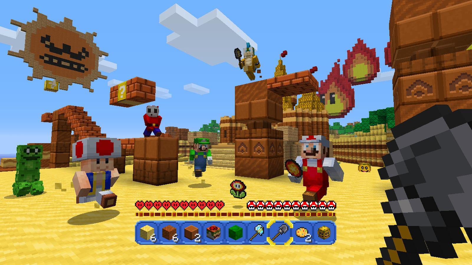 Nintendo s new Minecraft mashup
