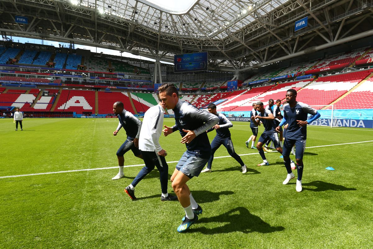 France Training Session - 2018 FIFA World Cup Russia