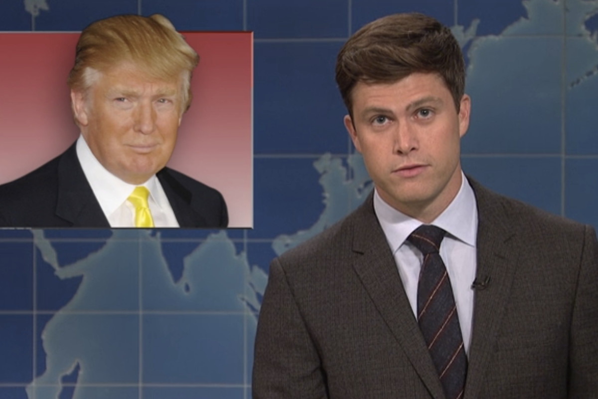 if saturday night live isn't going to take down trump, what's the